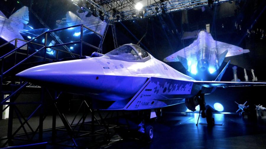 """FOTO """"Şah mat""""! Denumirea unui avion de luptă de ultimă generaţie, prezentat de către Rusia"""