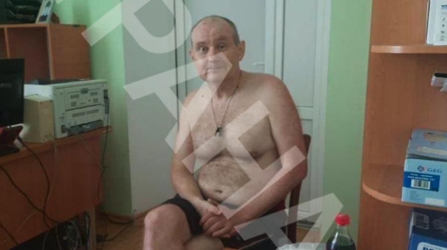 Nicolai Ceaus, doar în chiloți, într-un sat din Ucraina. Le-a spus polițiștilor că a fost răpit de persoane necunoscute