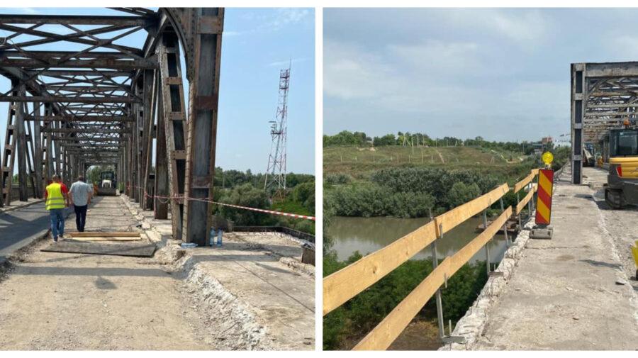 FOTO Traversarea Prutului, pe poduri moderne. Cinci pasarele ce leagă R. Moldova cu România, în proces de reabilitare