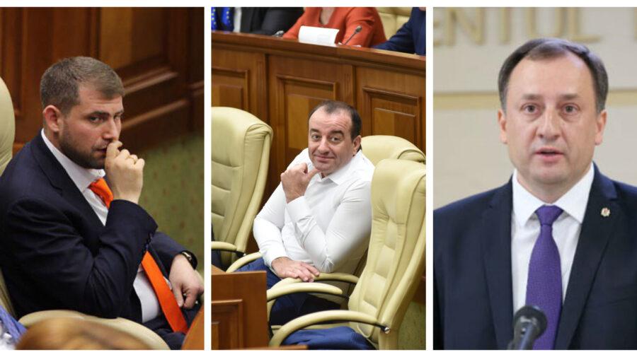 Vor mai avea imunitate sau nu Șor, Jardan și Ulanov în noul Legislativ? Precizările Procuraturii
