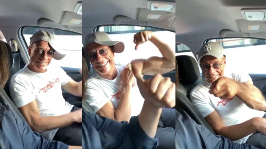 VIDEO Jean-Claude Van Damme, pe ritmuri de manele într-un oraș din România: Nu este în regulă pentru social network