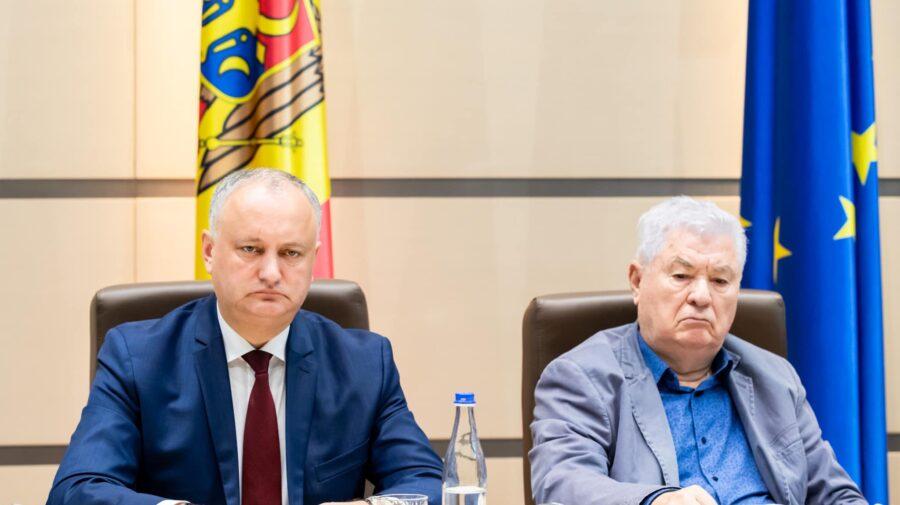 """VIDEO/FOTO Vor """"o nouă Constituție"""". Dodon și Voronin, prezenți la o lansare de carte privind reforma constituțională"""