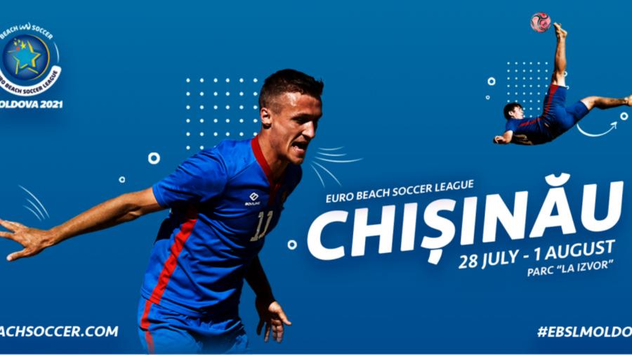 Republica Moldova va găzdui meciuri din cadrul campionatului European la Fotbal pe Plajă