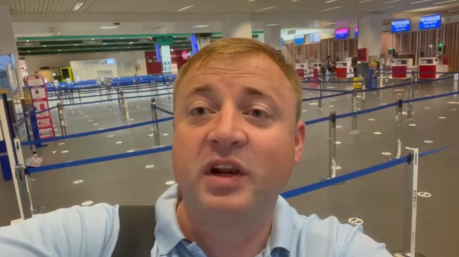 """Ironia sorții! Cavcaliuc, blocat pe aeroportul din Italia. Nu va fi prezent alături de partid să celebreze """"victoria"""""""