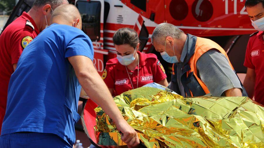 ȘOCANT! Un bărbat de 55 de ani, transportat la Chișinău cu arsuri pe 85% din suprafaţa corpului