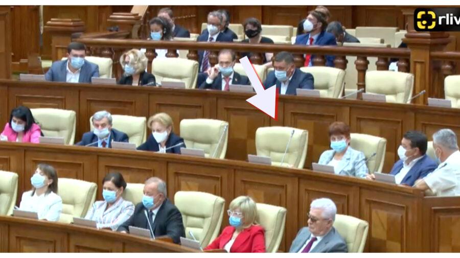 FOTO Igor Dodon a chiulit de la prima ședință a Parlamentului. Nu a fost observat în sala Legislativului