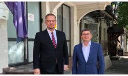 Aceeași ușă, un alt diplomat. Grosu s-a întâlnit cu ambasadorul Poloniei. I-a zis ce va face PAS în următorii 4 ani