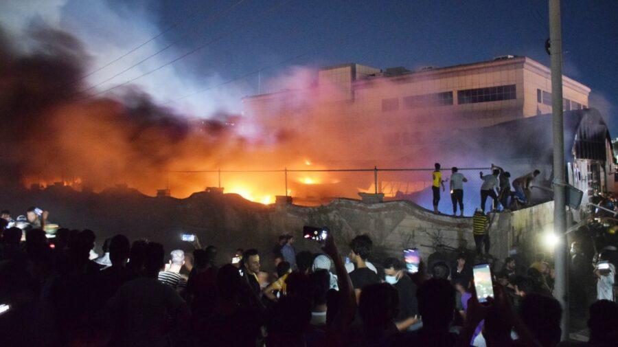 Explozie la un spital din Irak. 92 de persoane decedate