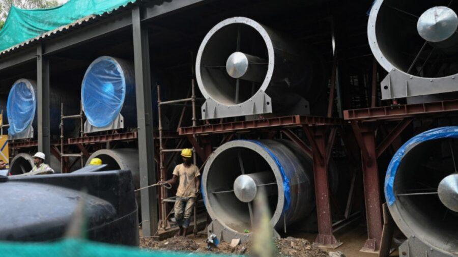India construieşte ventilatoare uriaşe pentru ameliorarea aerul, dar le va alimenta prin arderea de cărbune