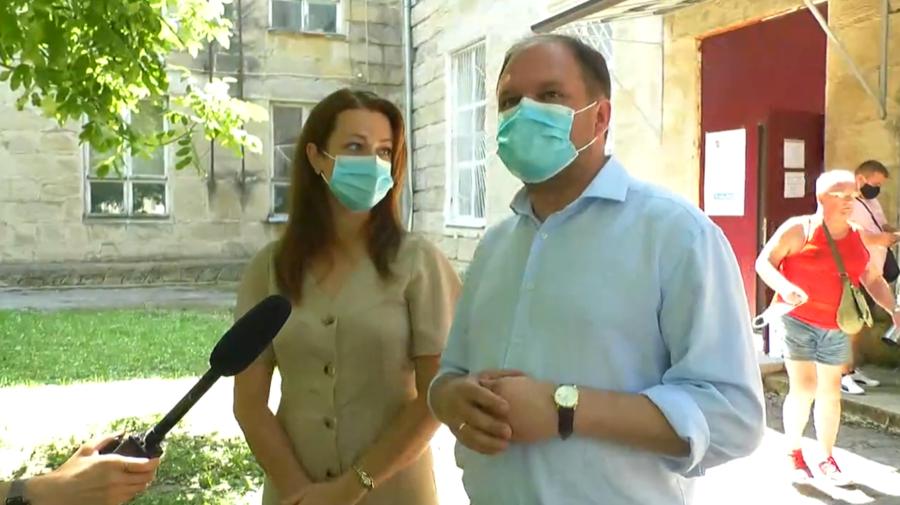"""VIDEO Ceban """"l-a citat"""" pe Șor după ce a votat: Îmi doresc ca toată țara să i-a ritmul de dezvoltare a Chișinăului"""