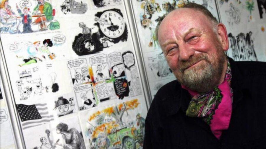 A murit caricaturistul care i-a înfuriat pe musulmani că l-a desenat pe profetul Mahomed purtând pe cap un turban-bombă