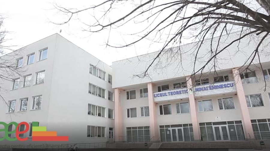 """VIDEO Iernile au devenit mai calde la Liceul Teoretic """"Mihai Eminescu"""" din orașul Cahul datorită AEE"""
