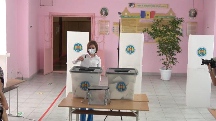 VIDEO Maia Sandu: Am votat pentru un Parlament care va numi în funcție persoane cinstite