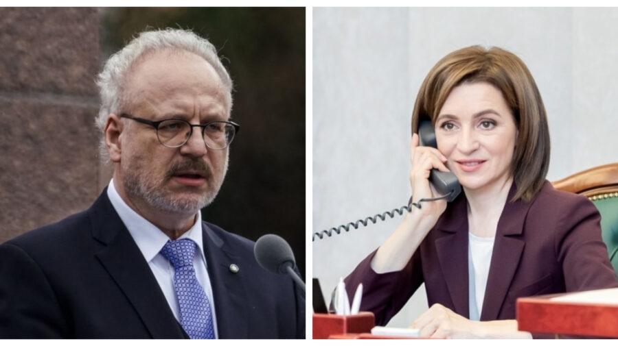 La Președinție se așteaptă oaspeți. Maia Sandu l-a invitat în Moldova pe președintele Letoniei