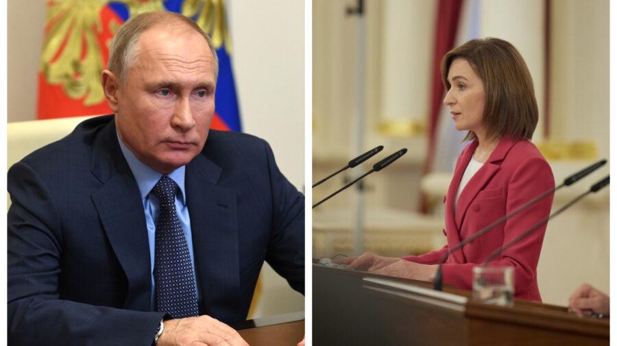 Potențială întrevedere între Maia Sandu și Vladimir Putin. Ce-și propune să discute președinta cu liderul mondial
