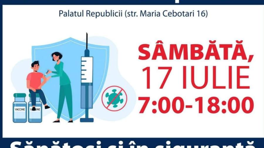 Persoanele care s-au vaccinat pe 26 iunie cu prima doză de Sputnik V, sunt așteptate sâmbătă la rapel