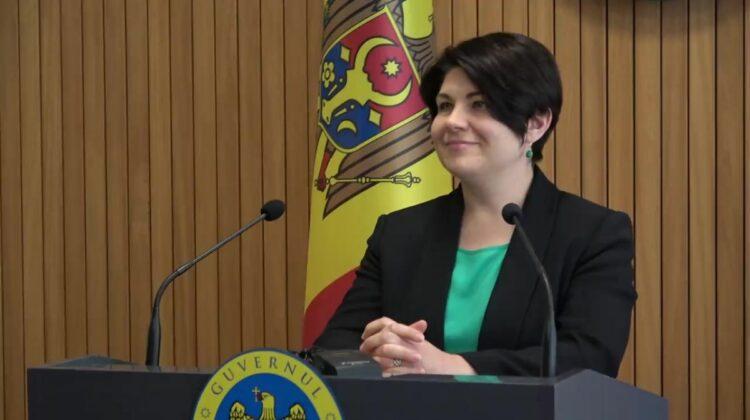 ULTIMA ORĂ. Natalia Gavrilița anunță când va face publică lista miniștrilor