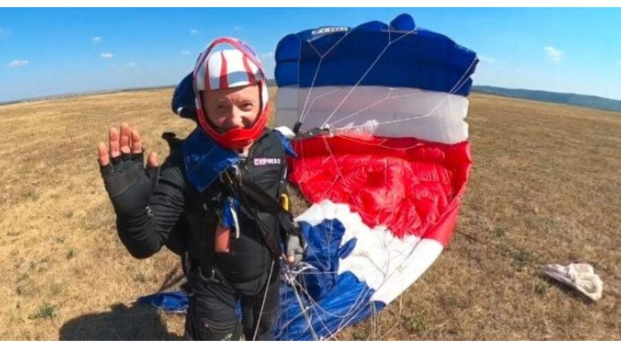Mesajul lui Oazu Nantoi după accidentul cu parașuta: Am suportat o traumă la aterizare… Aduc mulțumiri…