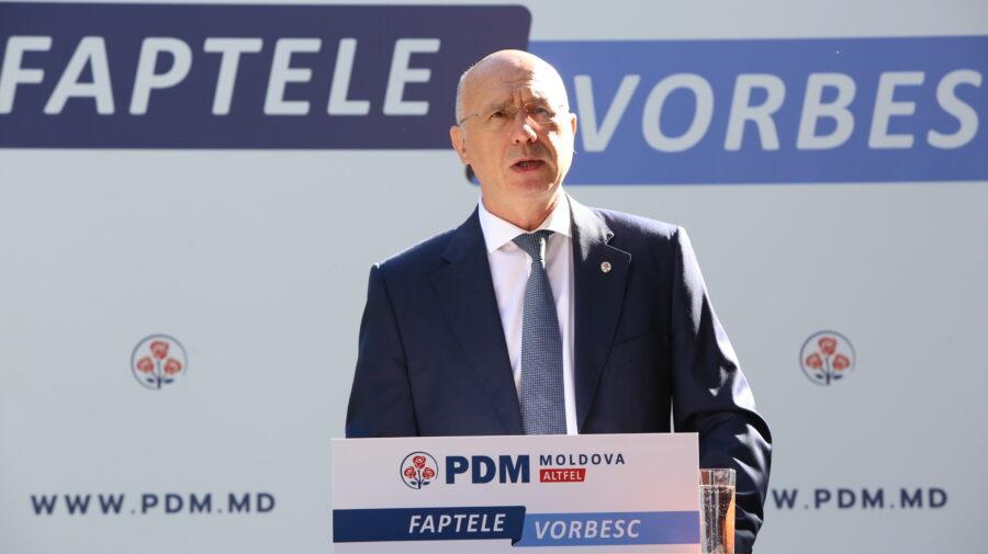 Pavel Filip despre bilanțul campaniei electorale: PDM are o echipă pregătită pentru ca să aducă în țară dezvoltare