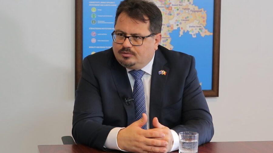 Michalko de pe scările Parlamentului: Avem așteptări mari de la noul Parlament precum o au și cetățenii