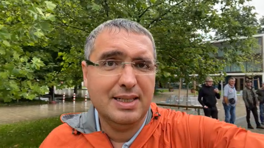 """VIDEO Renato Usatîi nu a dispărut nicăieri! A votat în Germania """"pentru resetarea statului"""". De ce anume acolo?"""