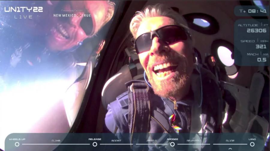 VIDEO Miliardarul Richard Branson s-a întors pe Terra după o scurtă aventură spaţială