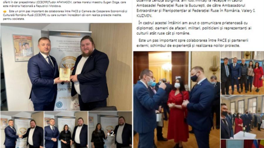 Cavcaliuc și Rusia, dragoste sub acoperire