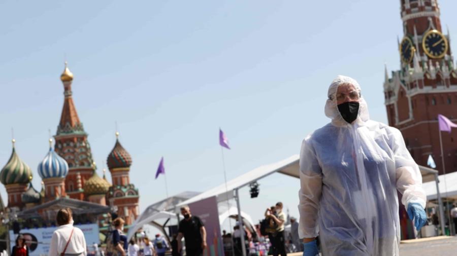Rusia s-a clasat pe locul PATRU în lume după ratele de incidență COVID-19, depășind Franța