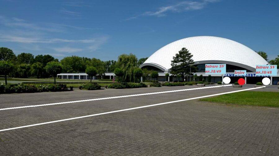 FOTO S-a schimbat locația secțiilor de votare pentru moldovenii din Frankfurt. Precizările Consulatului