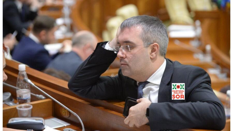 Sergiu Sîrbu s-a lăsat de politică doar câteva zile. Azi s-a ales cu funcția de vicepreședinte al Partidului Șor