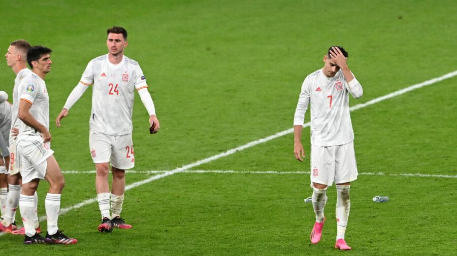 """Spania, dărâmată după eșecul de la EURO 2020. """"Am fost superiori, nu meritam să pierdem"""""""