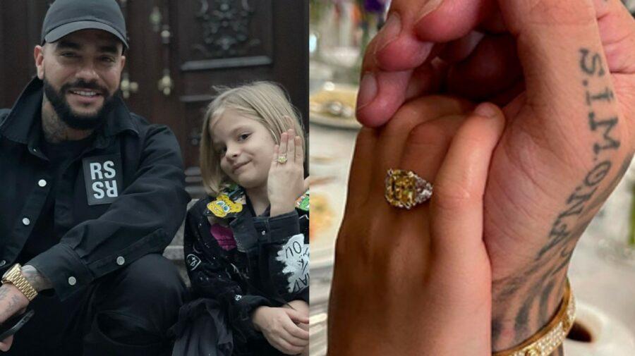 VIDEO Senzațional! Rapperul rus Timati i-a dăruit fiicei sale un inel în valoare de 300 000 de dolari