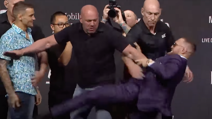 VIDEO Cea mai tare luptă a anului între Dustin Poirier şi Conor McGregor. Ultimul: Te voi plimba ca pe un câine