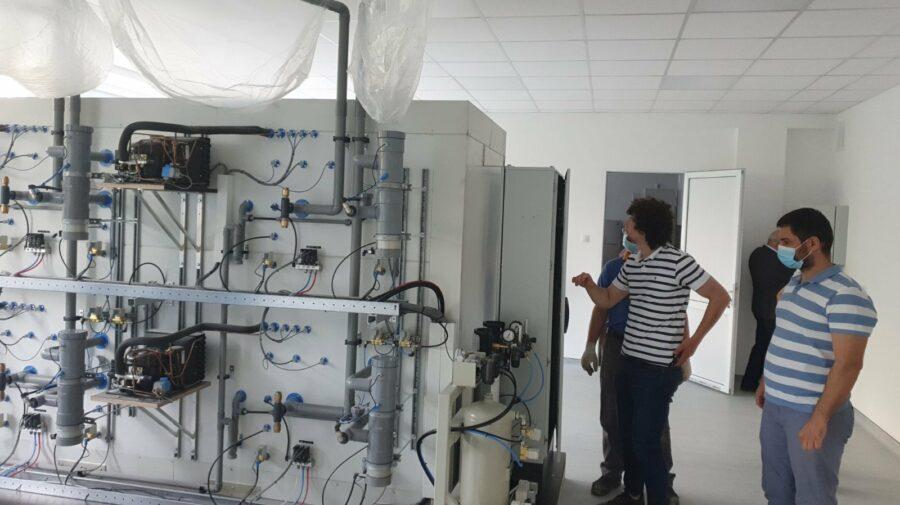 FOTO Trei laboratoare în proces de renovare și echipare pentru Universitatea Agrară din Moldova