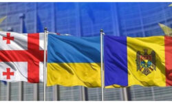 """Triunghiul """"asociat"""" Georgia-Moldova-Ucraina și-au unit forțele împotriva influenței rusești prin apropierea de UE"""