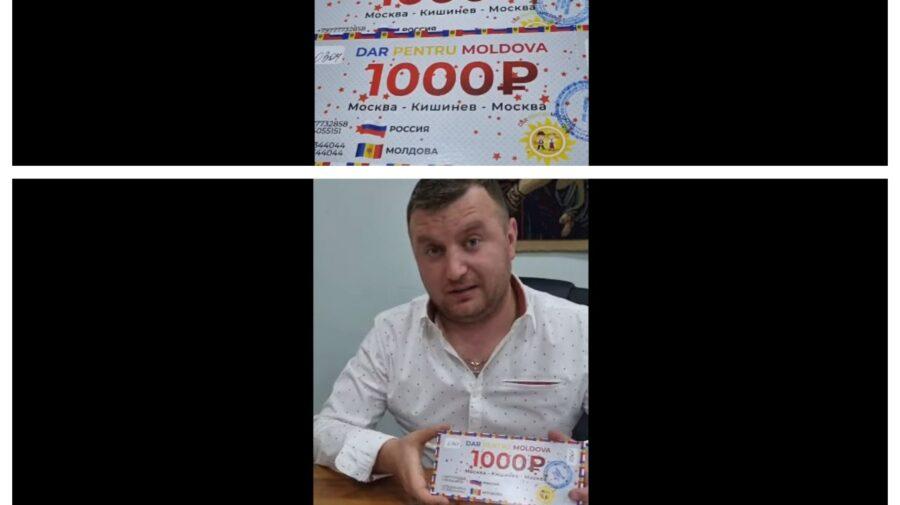 VIDEO/FOTO Se încearcă fraudarea voturilor în Rusia?! O companie afiliată PSRM va oferi moldovenilor 1000 de ruble