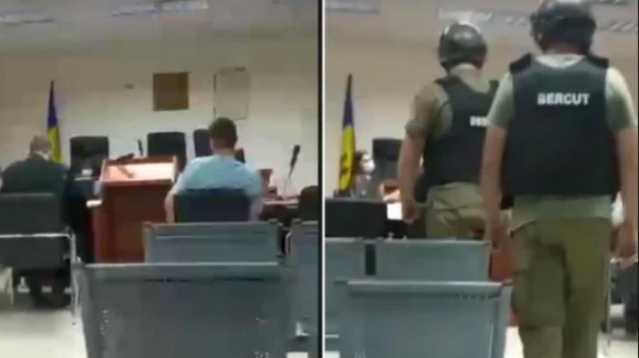VIDEO Veaceslav Platon, scos cu forța în timpul ședinței Curții de Apel! Au intervenit polițiștii