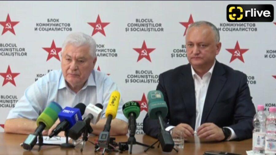 VIDEO Voronin nu încape de presă: Eu am auzit ce fel de discuții purtați voi ca jurnaliști. Noi vedem și înțelegem tot