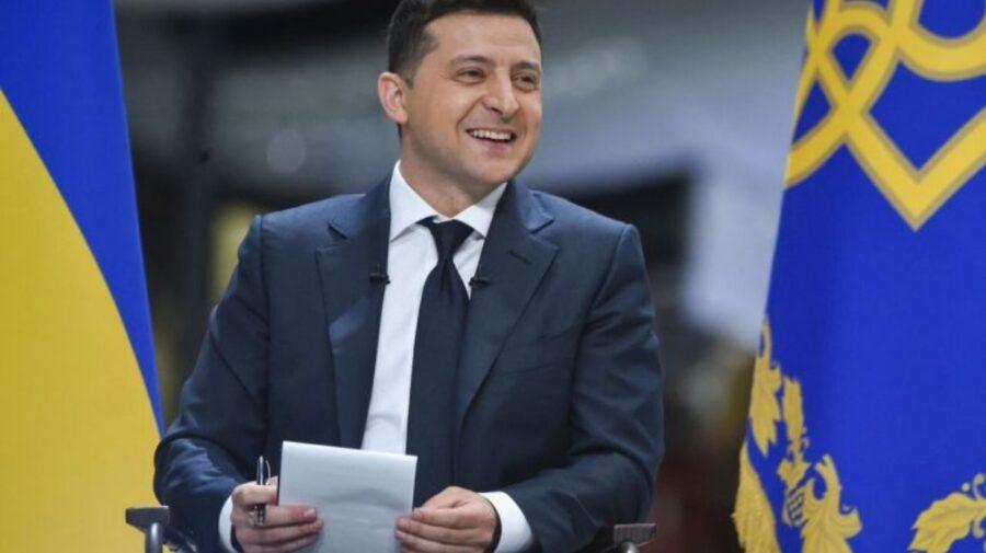 """Zelenski l-a pus la punct pe Putin: """"Dacă eram un popor, pe Dumă era să arboreze un drapel în culori galben-albastru"""""""
