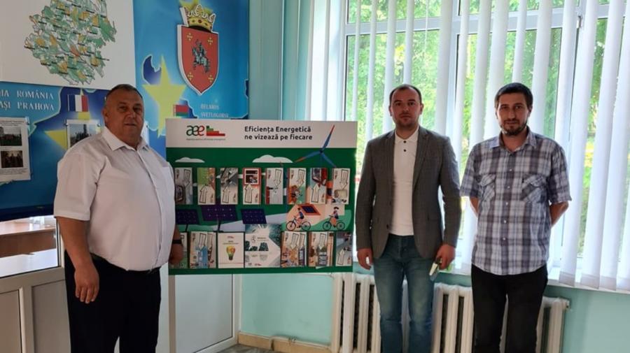 Raioanele Călărași și Nisporeni, parte a campaniei de informare lansată de Agenția pentru Eficiență Energetică