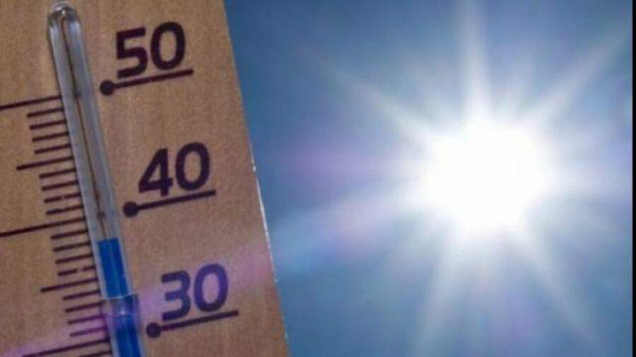 Temperaturi fierbinți pentru acest week-end