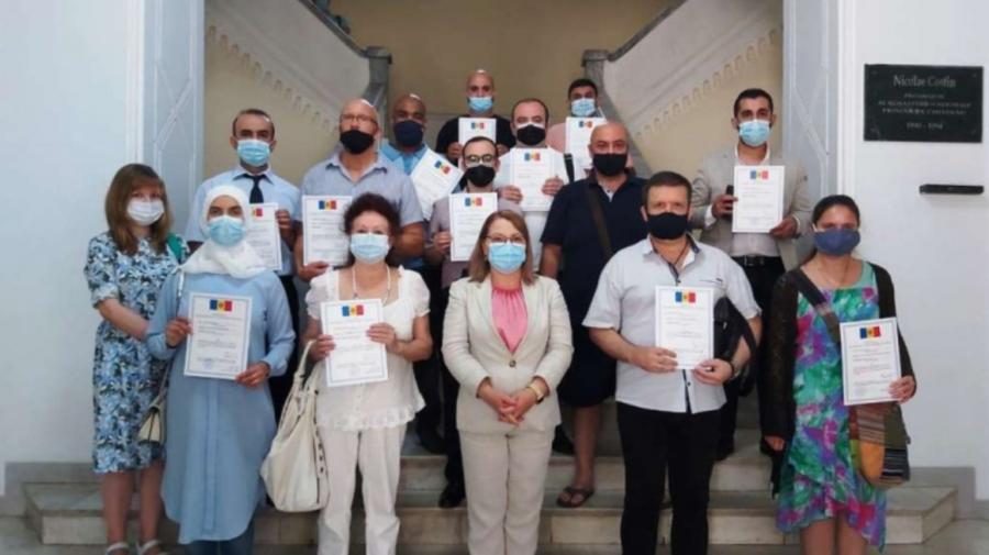 Cetățeni ruși, turci, sirieni, au depus jurământul pentru acordarea sau redobândirea cetățeniei Republicii Moldova