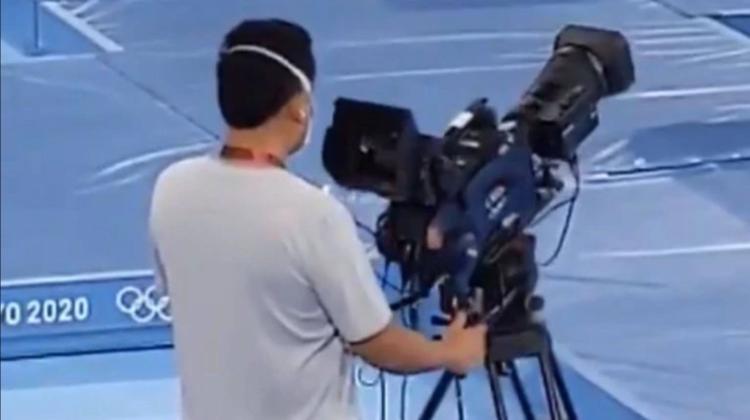 VIDEO Fiecare săritură contează! Momentul care a devenit viral din culisele profesiei de cameraman la Jocurile Olimpice