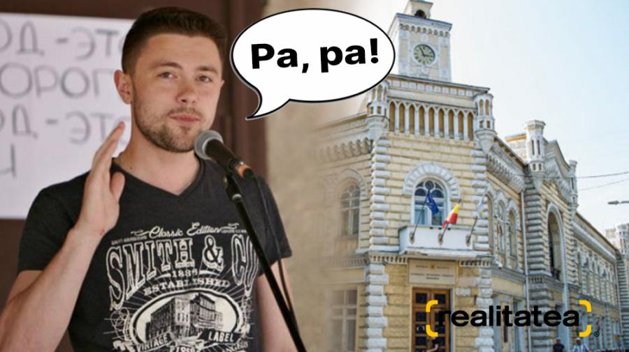 Victor Chironda nu va mai călca pragul Primăriei Chișinău în calitate de viceprimar! Acesta a fost DEMIS de CMC