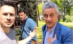 """VIDEO Bolocan de la """"Lumina"""" a prins 2 deputați PCRM în stradă. """"Nu v-am dat acordul atâția ani să îngenuncheați țara"""""""
