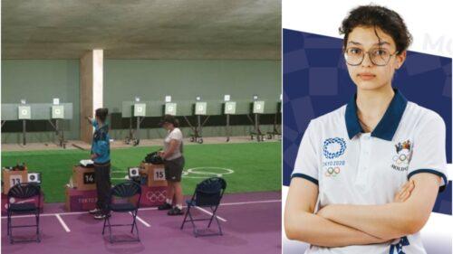 FOTO Locul ocupat de cea mai tânără participantă a Republicii Moldova la Jocurile Olimpice, proba tir. Are 15 ani!