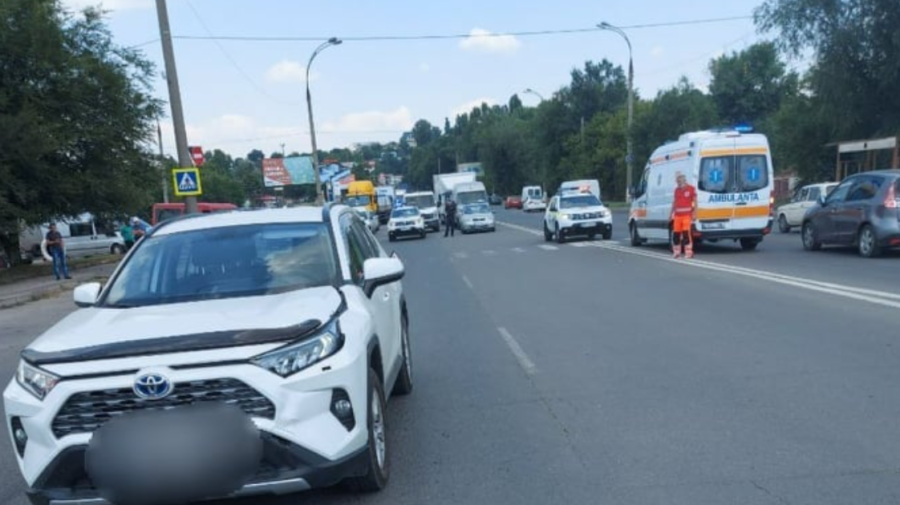 Accident MORTAL în Capitală! O femeie a DECEDAT după ce a fost tamponată pe trecerea de pietoni