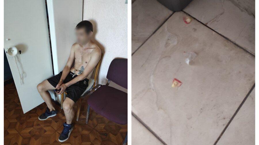 """FOTO """"A devenit agitat"""". Încă un tânăr din Capitală, prins cu substanțe interzise"""