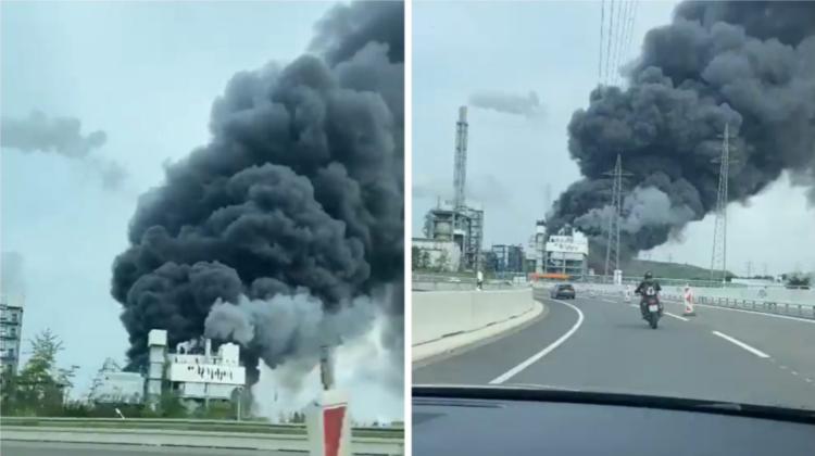VIDEO O explozie puternică s-a produs la una dintre cele mai mari uzine chimice din Germania