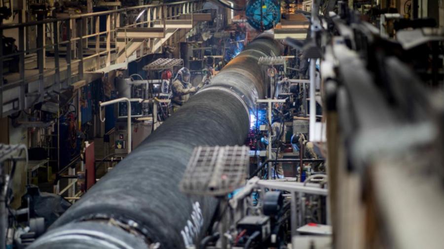 Conducta Nord Stream 2 ar putea livra gaze chiar de luna viitoare